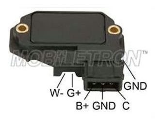 Imagen 1 de 5 de Modulo Encendido Electronico Peugeot 205/309/405/106