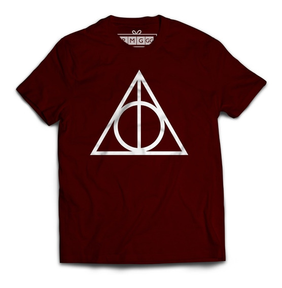 Camiseta Camisa Harry Potter Reliquias Da Morte Magia Bruxo