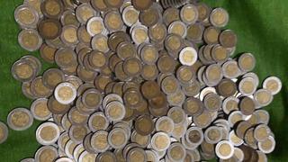 Monedas 5 Pesos Centenario Y Bicentenario
