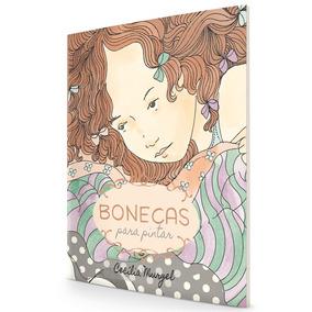 Livro Bonecas Para Pintar