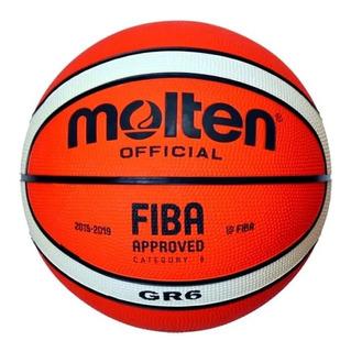Pelota Basket Basquet N°6 Molten Gr6 Femenino Mujer Entrenam