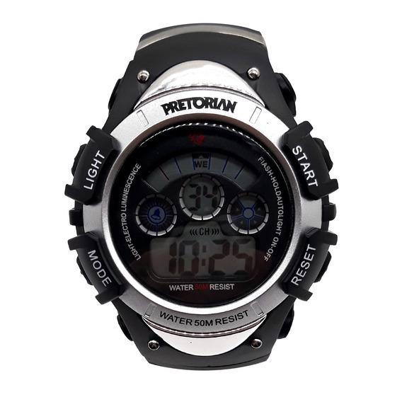 Relógio Pretorian Control Silver ( Wprt - 01-1)