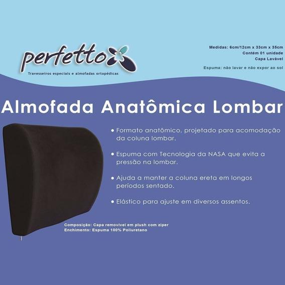 Almofada Anatômica Lombar - Perfetto