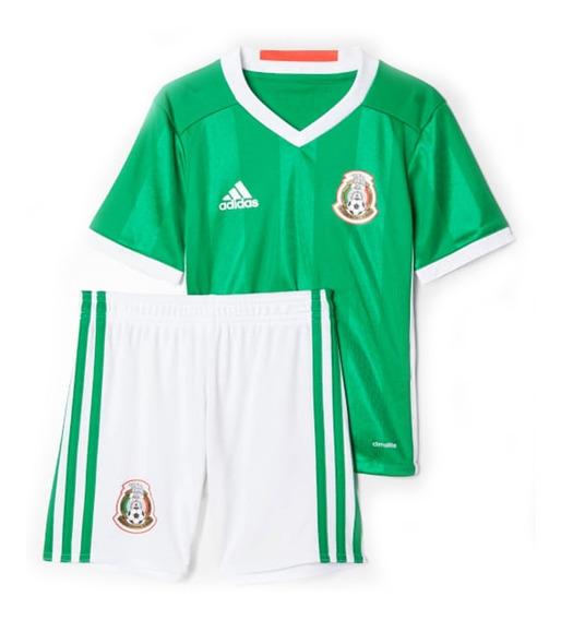 Uniforme Selección Mexicana Local 2016 Para Bebé Ac2729