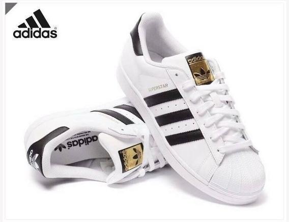 Tenis adidas Superstar Concha Originales +envio Gratis +caja