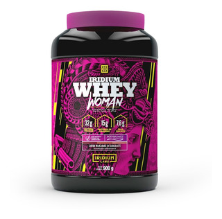 Whey Woman 900g Milkshake De Chocolate - Iridium Labs