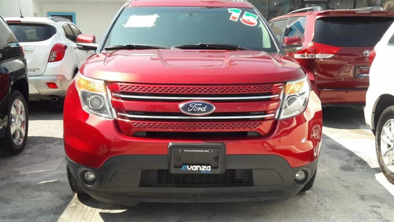 Ford Explorer 2015 3.5 V6 Xlt Piel At