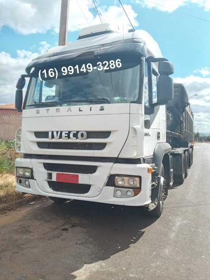 Caminhão Iveco 460 Nr - Trucado - Stralis - 2010
