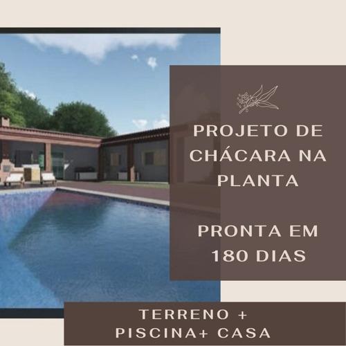 Imagem 1 de 8 de Chácara Dos Sonhos No Interior! C/o