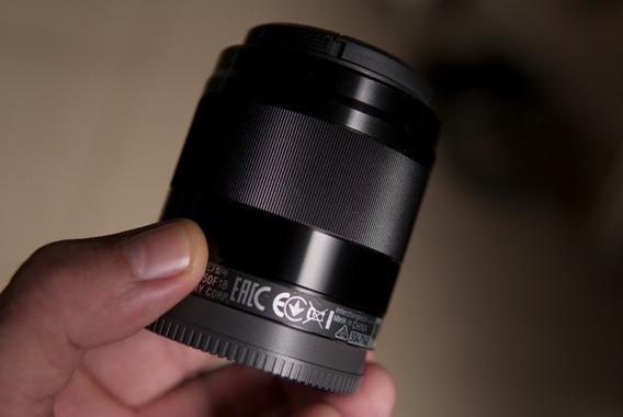 Lente Sony 50mm 1.8 Oss E- Mount