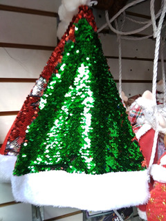Manualidades Gorros De Navidad.Adornos Navidenos Gorros De Navidad Manualidades Navidenos