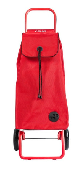 Carrito De Compra Rolser Color Rojo