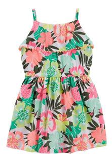 Carters Vestido De Bautismo Nenas Floral