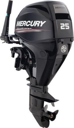 Motor Mercury 25hp - 4 Temp