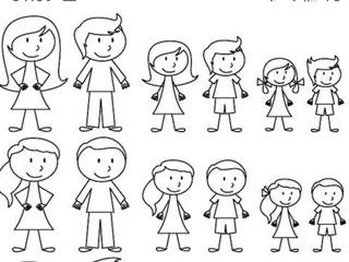 Calcos Con Nombres Y Dibujos Para Autos Familia En Mercado