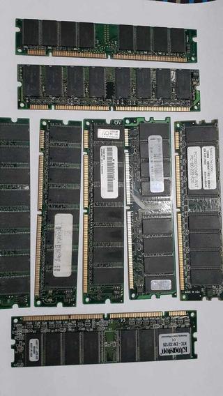 Memorias Ram Dimm Ddr 256, 128 Mb Pc133 Lote X 8
