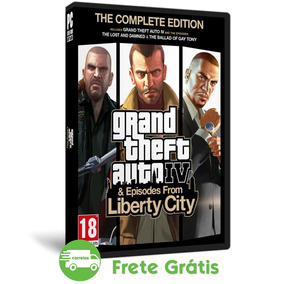 Grand Theft Auto Iv Pc Complete Edition Gta 4 Mídia Física