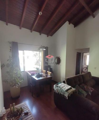 Imagem 1 de 10 de Apartamento À Venda, 2 Quartos, 1 Suíte, 2 Vagas, Eldízia - Santo André/sp - 100262