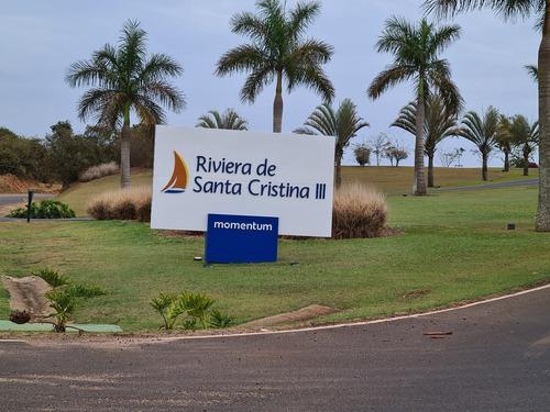 Imagem 1 de 14 de Terreno Na Riviera De Santa Cristina Iii As Margens Represa