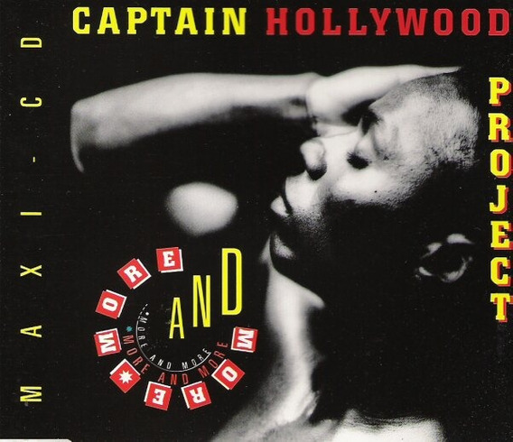 Cd Single - Captain Hollywood Project - More And More