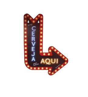 Placa De Parede Mdf Com Mensagem De Humor Cerveja-kathavento