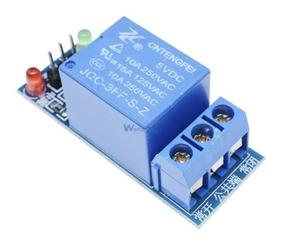 Kit Com 5 Relé 1 Canal 5v Para Arduino, Raspberry Pi