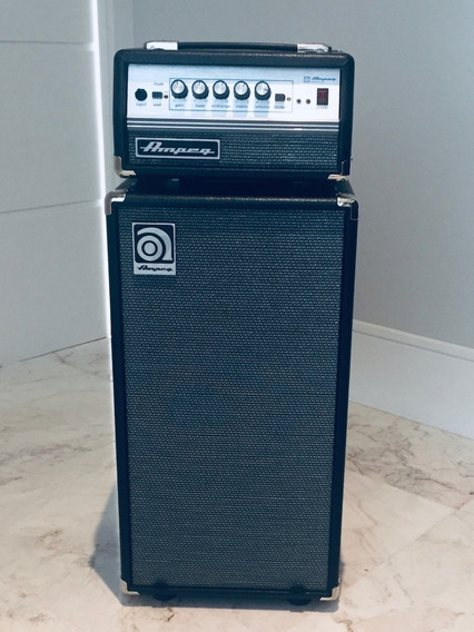 Amplificador Ampeg Micro Vr - Combo Cabeçote E Caixa