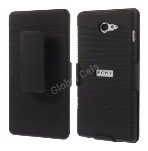 Case Xperia M2 Sony Funda Gancho Holster Parante Inclinable