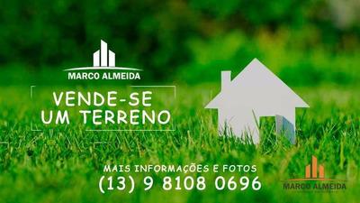 Terreno Residencial À Venda, Grandesp, Itanhaém. - Te0029