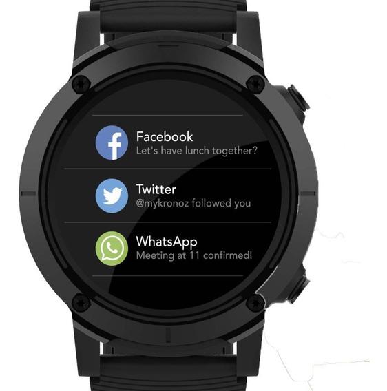 Relógio Seculus Smartwatch Preto 79004g0svnv1 + Nota Fiscal