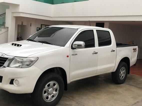 Toyota Hilux Motor 2.5 Diesel 2015 Euro Iv Blanco 4 Puertas