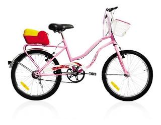 Bicicleta De Paseo Enrique Stars Nena Rodado 20 602 **10