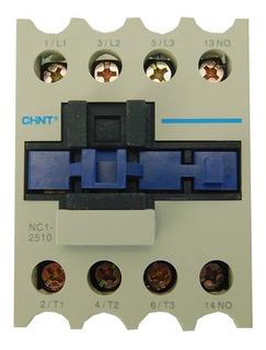 Contator Chint Nc1-2510 Trifasico 25 Amperes Com Bobina 220v