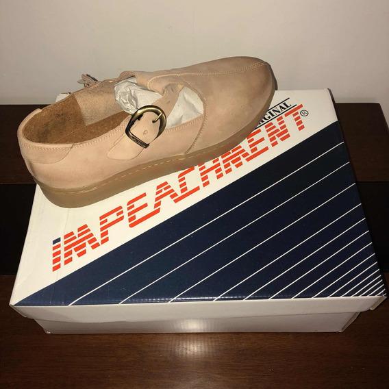 Sapato Tampa De Caixão Doce De Leite - Impeachment (original