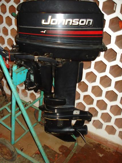 Motor Popa Johnson 25 Hp 1995 Mod. J25reo Todo Original!