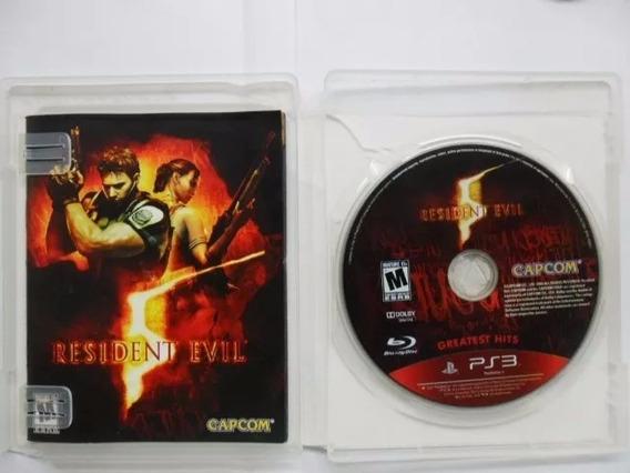 Resident Evil 5 Greatest Hits Jogo De Ps3 (midia Fisica)