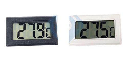 Imagen 1 de 5 de Termómetro Digital Sensor Empotrable Incubadora Portatil