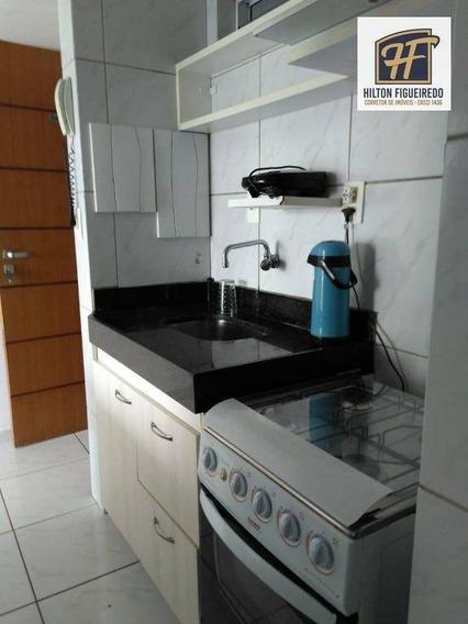 Alugo Flat Em Tambaú, 40 M Área, Varanda, Quarto, Sala, Banheiro E Cozinha Americana. R$ 1500 C Cond. Incluso - Ap5606