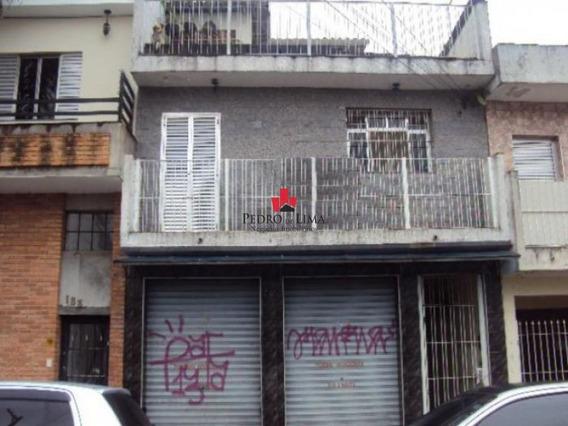 Casa Com Salão Comercial Em Baixo. - Pe16376