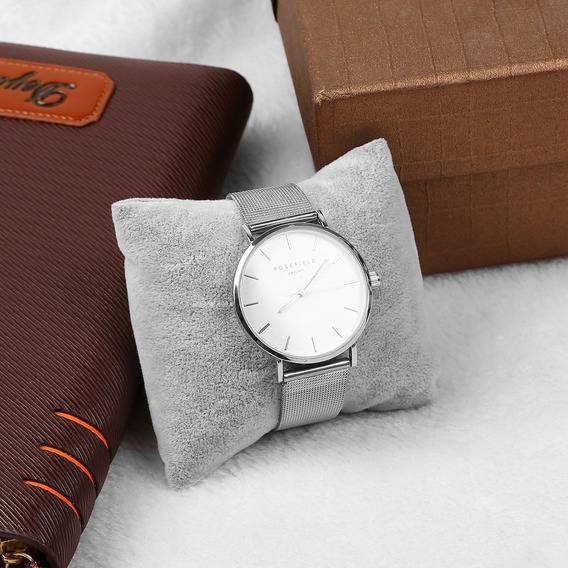 Linho Pulseira Bracelete Relógio Travesseiro Titular Para Jó