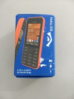 Nokia 208 Usado/ Necessita Troca De Bateria