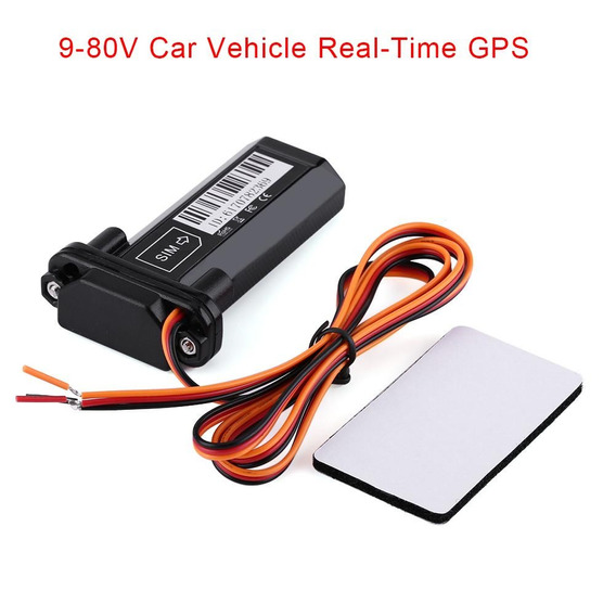 9-80v Carro Veículo Real - Tempo Gps Gsm Gprs Rastreador De