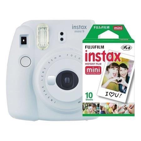 Fujifilm Instax Mini 9 - Foto Instantânea - Branco Gelo + Pa