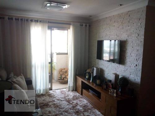 Imagem 1 de 30 de Imob01 - Apartamento 92 M² - Venda - 3 Dormitórios - 1 Suíte - Vila Pires - Santo André/sp - Ap2151