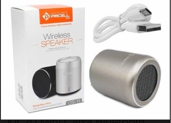 Mini Caixa Som Bluetooth Wireless Pmcell Power 999 Cs-11