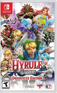 Hyrule Warriors Definitive Ed. Fisico Nuevo Switch