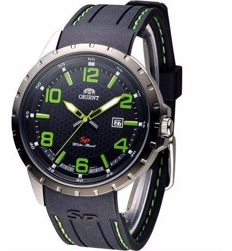 Reloj Orient Hombre Goma Fung3005bo Original