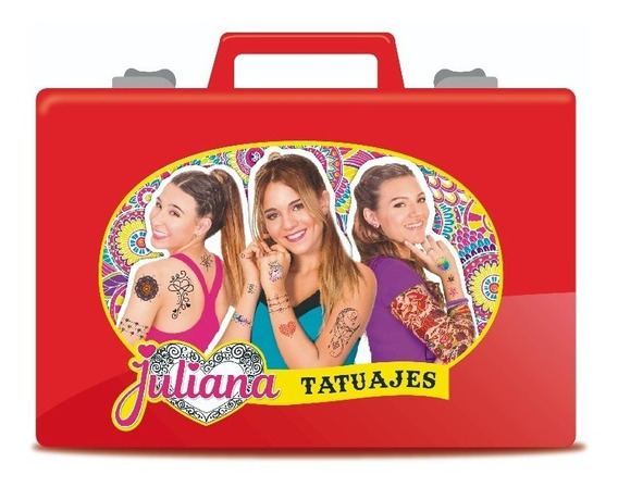 Nueva Valija Juliana Tatuajes Tattoo Original Tv Full
