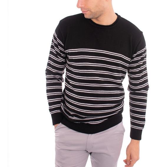 Buzo Sweater Formal Hombre Sueter - Cuello Redondo