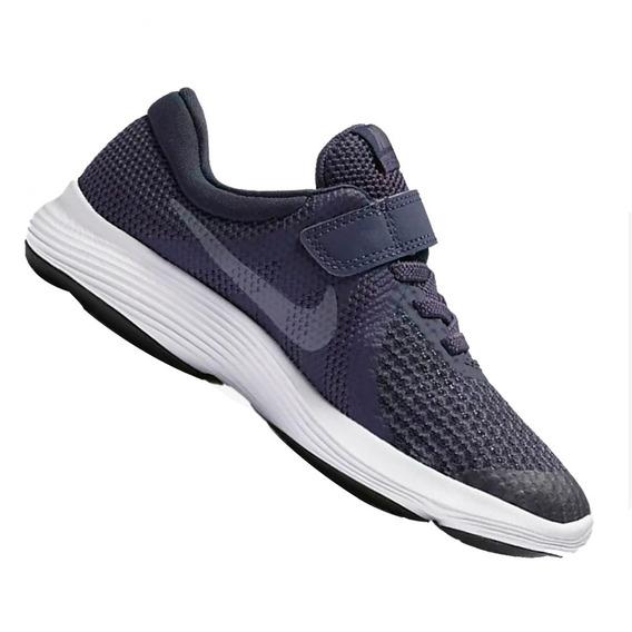 Tênis Nike Revolution 4 Psv Azul 943305501 Original